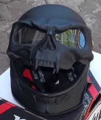 black knight full face 3d skull motorcycle helmet motorcycle