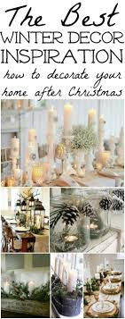 Winter Decorations - Winter Table Ideas & More