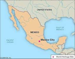 Image result for El Zócalo, Mexico City map