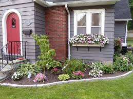 Small Picture Flower Garden Ideas In Front Of House Design Home Design Ideas
