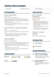 Computer Engineer Resumes Systems Engineer Resume Samples With 7 Examples