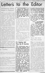 Letters to the Editor January 25 1966
