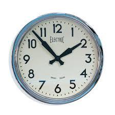 Small Picture Plain Wall Clock Digiscot