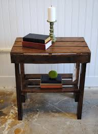 furniture out of wooden pallets. end table made from pallets wood entire website to pallet furniture out of wooden