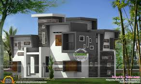 ... Contemporary Flat Roof House Kerala Home Design And Floor Plans Full  size