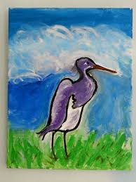 saatchi art artist pam malone painting i am a great blue heron