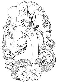 Creative Haven Floral Design Color By Number Coloring Book Coloring Coloring Book Pages Unicorn Fairy Unicorns Adult