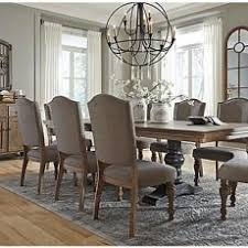 vibrant idea ashley dining room table and chairs the tanshire from furniture home set tables