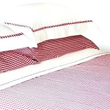 red gingham duvet cover raspberry red gingham duvet cover red gingham cot bed sheets