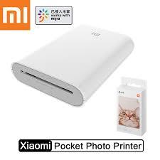 <b>Xiaomi Mijia</b> Pocket Photo <b>Printer AR</b> Technology Portable picture ...
