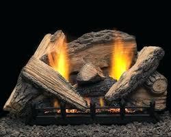 vent free natural gas logs stony creek vent free gas log set savannah oak 18 in