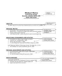 Resume Of Activities Professional Activities Resume Examples ...