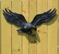 patriotic wall hangings outdoor eagle plaque
