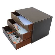 office desk with filing cabinet. 3 Drawer Leather Office Desk File Cabinet Organizer Holder Document Storage Box 1381 Brown-in Tray From \u0026 School Supplies On Aliexpress.com With Filing