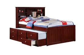 boys captain bed. Fine Captain Amazoncom Full Mission Captains Cappucino Bookcase Trundle Bed Kitchen U0026  Dining With Boys Captain Bed G