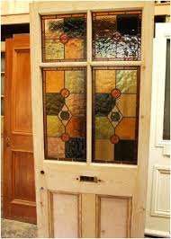front doors stained glass for a finding antique door upvc