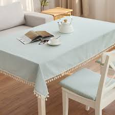 out of stock meimei love table cloth fabric cotton small fresh and simple modern round table tablecloth coffee table