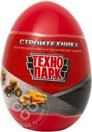 Купить Игрушка <b>Технопарк Стройтехника</b> в яйце 7.5см с ...