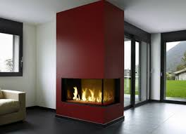 the davinci custom linear right corner gas fireplace is an ideal contemporary fireplace for your home