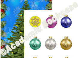 Christmas Chart Images Reward Counting Chart Christmas Tree And Baubles