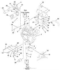Gravely 992317 006000 31hp pm260h rear discharge parts engine muffler and air filter diagram gif at river currents diagram