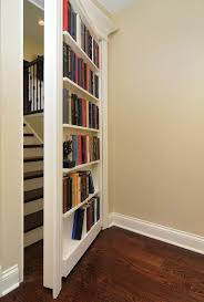 hidden bookcase door | This secret