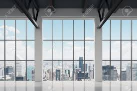 free office space. Free Office Space. Contemporary Space With New York View. A Concept Of Financial