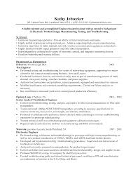 Manufacturing Test Engineer Sample Resume Rf Test Engineer Sample Resume 24 On 24 Nardellidesign 21