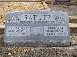 Susie Mae Warren Ratliff (1898-1972) - Find A Grave Memorial