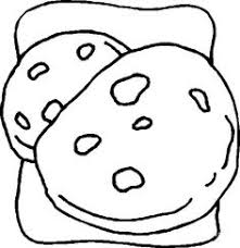 Small Picture Chocolate Cookies Coloring Page Disabilities Pinterest