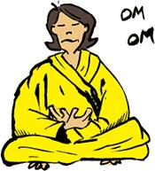 Resultado de imagen para gif meditación