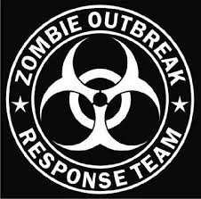 235 best zombies images on pinterest horror, zombies and zombie White House Zombie Apocalypse Plan zombie outbreak response team white die cut vinyl decal sticker buy zombie survival kits Castle Tree House Zombie