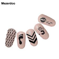 1Pc Piano Musical Theme Nail Art Stamp Stamping Kiss Palm Patterns ...