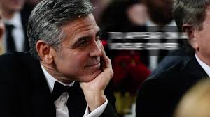 George Clooney is a great believer in age and experience thanks.