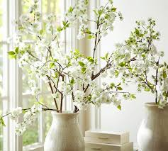 faux oversized cherry blossom branch