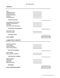 Balance Sheet Form Business Forms 247098400815 Sample Of Balance