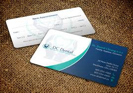 dental visiting card design modern professional dental business card design for a company by