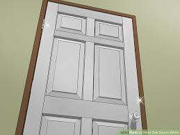 image titled paint oak doors white step 18