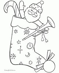 Small Picture 100 ideas Christmas Stocking Coloring Pages Pattern on kankanwzcom