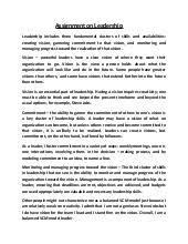 apa style essay leadership essay