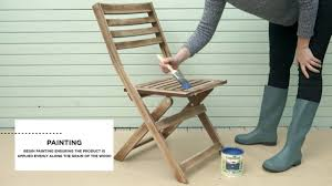 how to paint garden furniture cuprinol