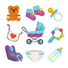 Baby Things Clipart 1 602 Baby Things Stock Illustrations Cliparts And Royalty Free