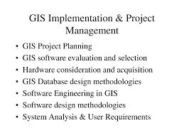 Geospatial Database Design Methodology Gis Geographical Information System Ppt Download