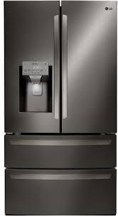 lg black stainless steel refrigerator. LG Black Stainless Steel Main Image Lg Refrigerator