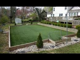 artificial turf backyard. How To Make A Backyard Artificial Turf Field