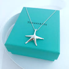 details about tiffany co silver elsa peretti large starfish pendant necklace 16 ng