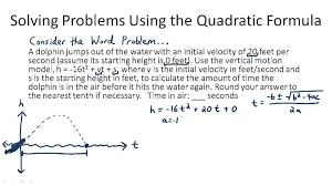 quadratic formula word problems picture quadratic formula word problems thumb 540 50 photos delectable thesis statement