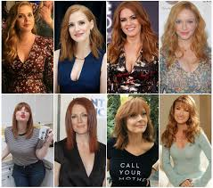 May be too difficult to decide. Chose one to be your Mommy and another to  be your Auntie: Amy Adams, Jessica Chastain, Isla Fisher, Christina  Hendricks, Bryce Dallas-Howard, Susan Sarandon, Jane Seymour :