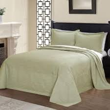 Size Twin Quilts & Coverlets For Less | Overstock.com & Vibrant Solid-colored Microfiber and Cotton Quilted French Tile Bedspread  (Option: Twin) Adamdwight.com