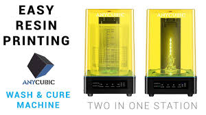 <b>ANYCUBIC wash & cure</b> machine: Streamline your resin 3d printing ...